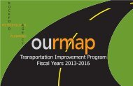 Fiscal Year 2013 TIP - Rockford Metropolitan Agency For Planning