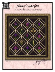 Jinny's Garden - Quilting Board