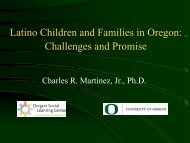 Building Community Collaboration to Develop ... - Oregon State 4-H