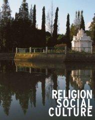 RELIGION SOCIAL CULTURE - International Recovery Platform
