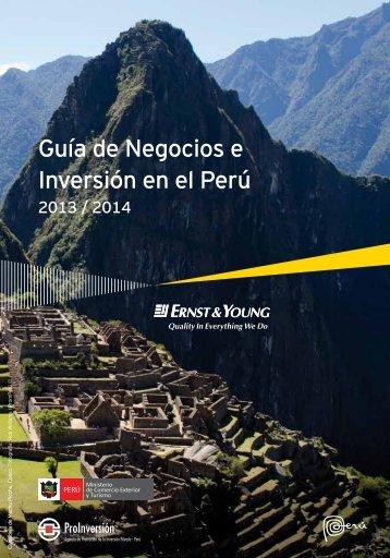 Guía de Negocios e Inversión en el Perú - Proinversión