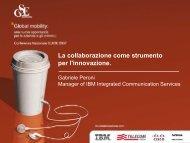 La collaborazione come strumento per l ... - Guide Share Italia