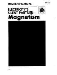 Electricity's Silent Partner - Magnetism - Sarasota County Extension