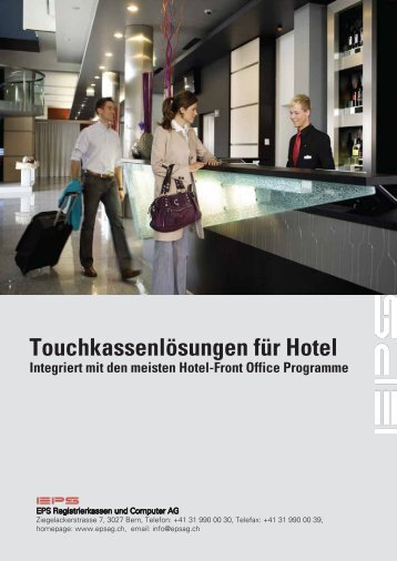 Hotelintegration - EPS AG (Bern)