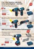 Bosch Elektromos Kéziszerszámok Profi Felhasználásra - Page 3