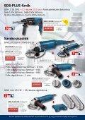 Bosch Elektromos Kéziszerszámok Profi Felhasználásra - Page 5