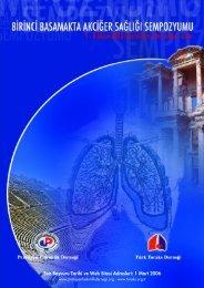Birinci Basamakta Akciğer Sağlığı Sempozyumu - Türk Toraks Derneği
