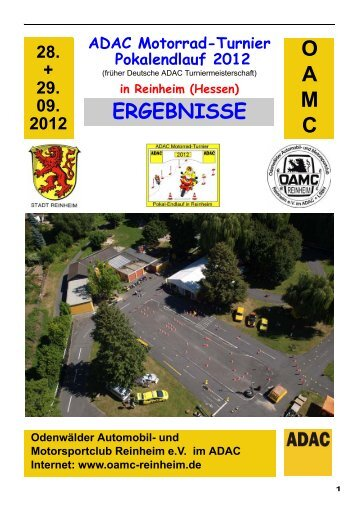 ADAC Motorrad-Turnier Pokalendlauf 2012 - OAMC Reinheim