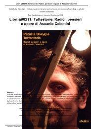 Libri – Tuttestorie. Radici, pensieri e opere di ... - Close-Up.it
