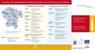 Präventions-Hotlines. Die Anlaufstellen zur frühzeitigen ... - OloV