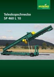 Teleskopschnecke SP 460 L 10 - Huning Maschinenbau