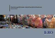 Marktmogelijkheden detailhandelsinitiatieven - Gemeente Breda