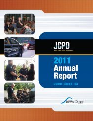 download the Annual Report - City of Johns Creek