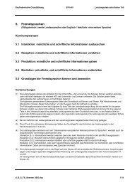 5. Fremdsprachen - Neue kaufmännische Grundbildung