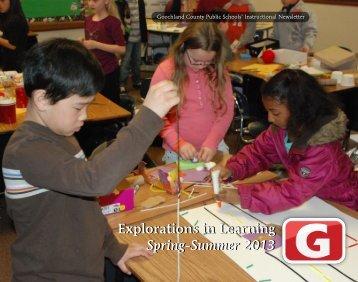 Spring-Summer 2013 - Goochland County Public Schools