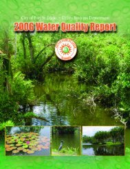 2006 Water Quality Report | City of Port St. Lucie Utility Systems