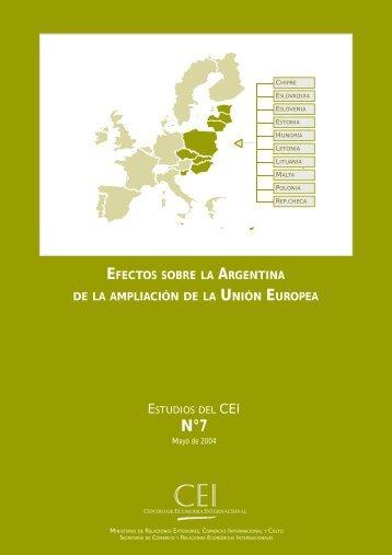 7 SERIE DE ESTUDIOS.pdf - Centro de Economía Internacional