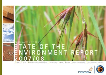 state of the environment report 2007/08 - Parramatta City Council
