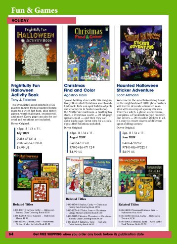 New Spring Titles 2009-pp64-72.indd - Dover Publications