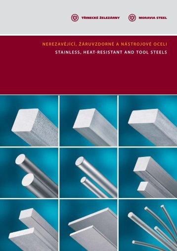 Katalog nástrojových, nerezavějících a žáruvzdorných ocelí (pdf)