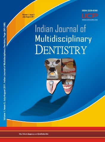 Volume 1 - Issue-5 (Jul-Aug) Download Pdf - IJMD