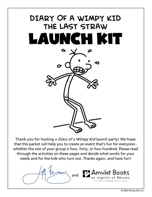 Diary Of A Wimpy Kid The Last Straw Launch Kit Borders