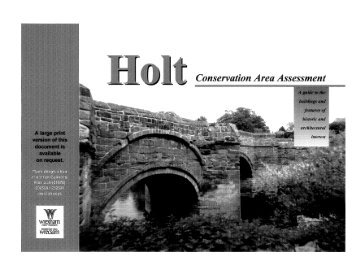 Holt Part 1 of 2 - PDF format 2.6Mb - Wrexham County Borough ...