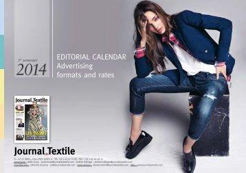 download the agenda in PDF format - Journal du Textile