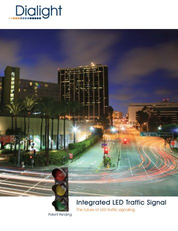 Integrated LED Traffic Signal - Dialight