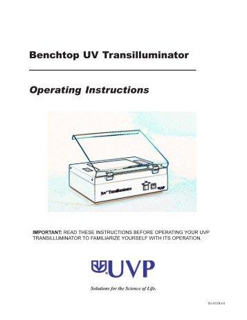 81-0118-01 - UVP Inc.