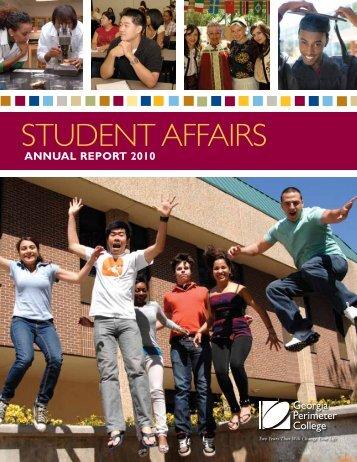 Student AffAirS - GPC Home - Georgia Perimeter College