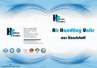 AHU Air Handling Units - Hürner-Funken GmbH