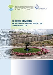 EU-Israel relations: Promoting and Ensuring respect for ... - Refworld