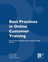Best Practices in Online Customer Training - Pttmedia.com ...