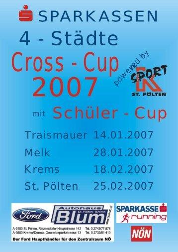 Sparkassen 4-Städte Cross-Cup 2007 - Union Traismauer