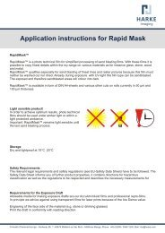 Application instructions for Rapid Mask