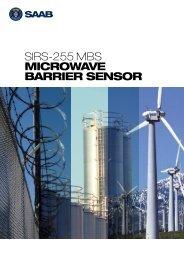 SIRS-255 MBS MICROWAVE BARRIER SENSOR - Saab