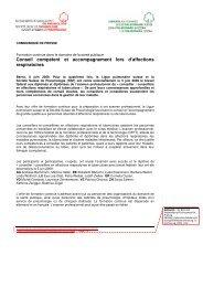 Conseil compétent et accompagnement lors d ... - Ligue pulmonaire
