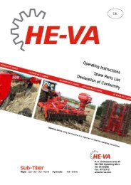 Download Operating Instructions / Spare Parts List - HE-VA