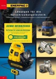 Enerpac Verschraubtechnik E411e (deutsch) - Hydraulikpumpen
