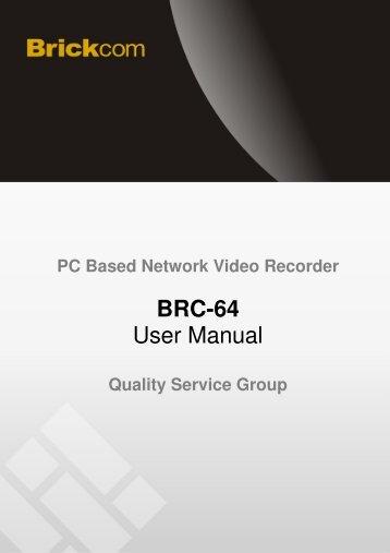 BRC-64 User Manual