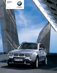 The Ultimate Driving Machine® 2008 BMW X3 Sports ... - Irvine BMW