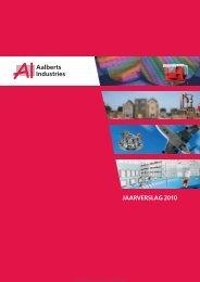 Aalberts Industries Jaarverslag 2010 - Aalberts Industries NV