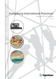 Kongsberg International Preschool - Hageselskapet
