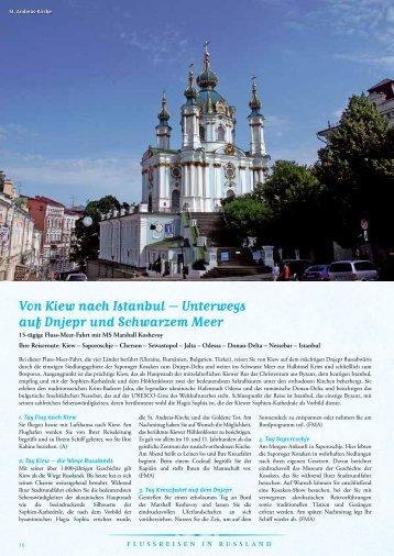 Von Kiew nach Istanbul – Unterwegs auf Dnjepr und Schwarzem Meer