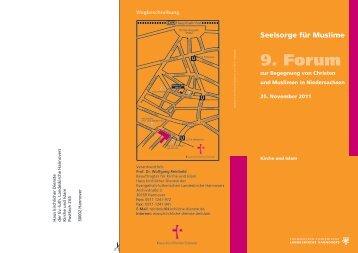 9. Forum Flugblatt - Haus der Religionen