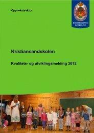 Kristiansandskolen - Pedagogisk senter