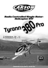 Radio Controlled Single-Rotor- Helicopter RTF
