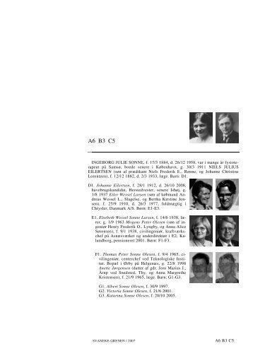 A6 B3 C5 - Lauegaardsfamilien