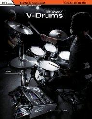 V-Drums - medialink - Sweetwater.com